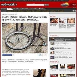 POČELA SEZONA KRAĐA Bicikli nestaju iz dvorišta, haustora, stubišta...
