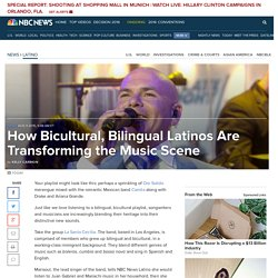 How Bicultural, Bilingual Latinos Are Transforming the Music Scene