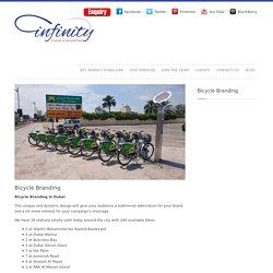 Bicycle Branding in Dubai