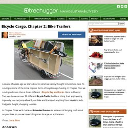 Bicycle Cargo. Chapter 2: Bike Trailers