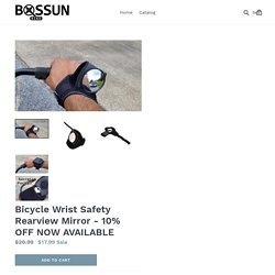 Bicycle Wrist Safety Rearview Mirror - 10% OFF NOW AVAILABLE – Bossun Bike