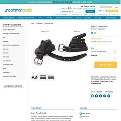 BIKE TREAD BELT | Bicycle Tire Belt, Recycled, Rubber