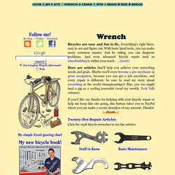 Bicycle Bike Repair Maintenance Mechanics and Tools by Jim Langley