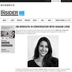 Jim Biddulph in conversation with Shahar Livne