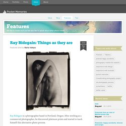 Ray Bidegain: Things as they are