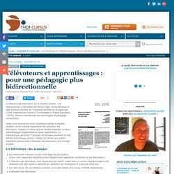Télévoteurs et apprentissages : pour une pédagogie plus bidirectionnelle