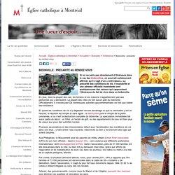Bidonville : précarité au rendez-vous - Accueil - Église catholique à Montréal