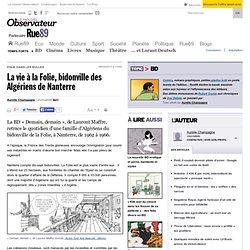 La vie à la Folie, bidonville des Algériens de Nanterre