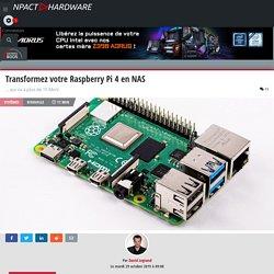 Transformez votre Raspberry Pi 4 en NAS