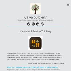 Capsules & Design Thinking