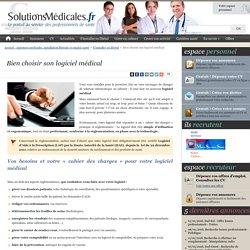 Bien choisir son logiciel médical