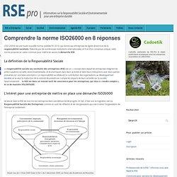 Bien Comprendre La Norme ISO 26000