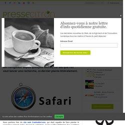 Il y a bien un gros bug sur Safari, mais ce n'est pas de la faute à crashsafari