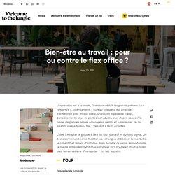Bien-être au travail : pour ou contre le flex office ?