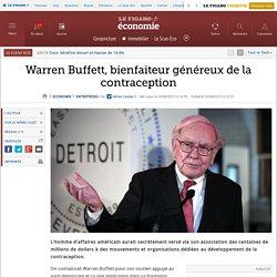 Warren Buffett, bienfaiteur généreux de la contraception