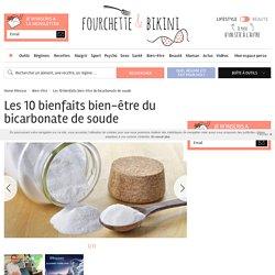 Les 10 bienfaits bien-être du bicarbonate de soude - Edito
