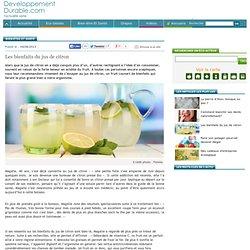 Bien-être et Santé : Les bienfaits du jus de citron