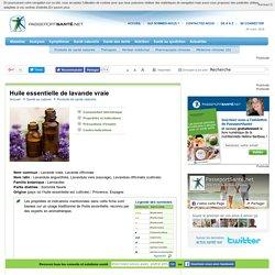 Les bienfaits de l'huile essentielle de lavande vraie