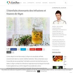 Thym: 5 bienfaits étonnants des infusions et tisanes
