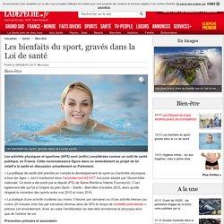 Les bienfaits du sport, gravés dans la Loi de santé - 18/03/2015 - LaDepeche.fr