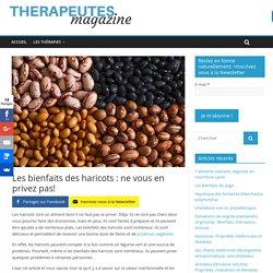 Les bienfaits des haricots : ne vous en privez pas! - Therapeutes magazine