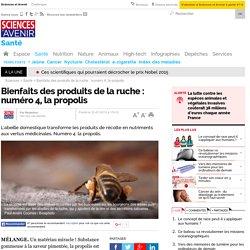 Bienfaits des produits de la ruche : numéro 4, la propolis