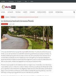 Les bienheureux boulevards du nouveau Rwanda – Actusen