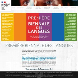 Biennale des langues - Concours - Cartes postales