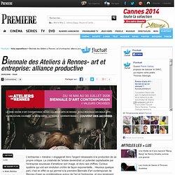 Biennale des Ateliers à Rennes- art et entreprise: alliance productive