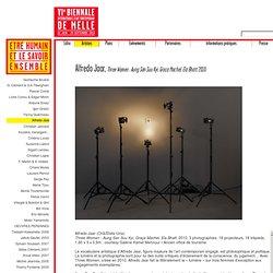 Biennale de Melle 2013, Alfredo Jaar