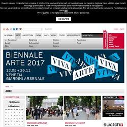 Entry page per l'arte