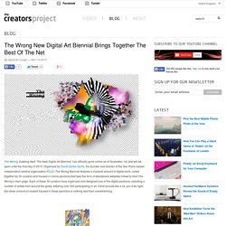 The Wrong New Digital Art Biennial Brings Together The Best Of The Net