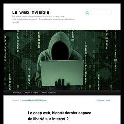 Le deep web, bientôt dernier espace de liberté sur internet ?