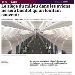 Le siège du milieu dans les avions ne sera bientôt qu'un lointain souvenir