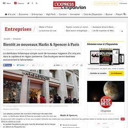 Bientôt 20 nouveaux Marks & Spencer à Paris