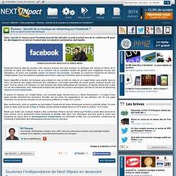 Rumeur : bientôt de la musique en streaming sur Facebook ?