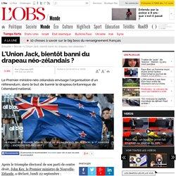 L'Union Jack, bientôt banni du drapeau néo-zélandais ?- 22 septembre 2014