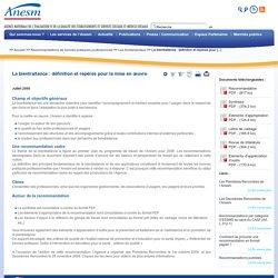 La bientraitance : définition et repères pour la mise en œuvre