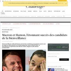 Macron et Hamon, l'étonnant succès des candidats de la bienveillance - Challenges.fr