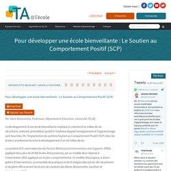 Pour développer une école bienveillante : Le Soutien au Comportement Positif (SCP)