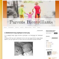 Parents Bienveillants: L'allaitement long expliqué à mon psy
