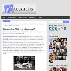 Bienvenida RDA… ¿y ahora qué? - Claudia Escobar Vallarta (2014)