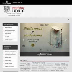 Bienvenido a Revistas UNAM