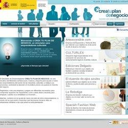 Bienvenido aCREA TU PLAN DE NEGOCIO,un simulador para emprendedores culturales