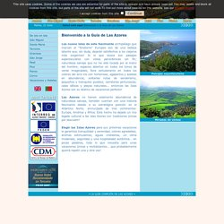 Bienvenido a la Guía de Las Azores