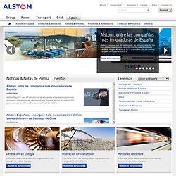 Bienvenidos a Alstom en España