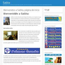 Bienvenidos a Sallita, página de inicio - Sallita