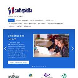 Bienvenue sur Acadiepédia !