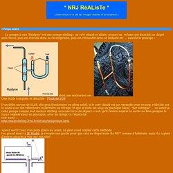 NRJ réalistes - Tutos fabrication systèmes hydrauliques simples