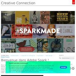 Bienvenue dans Adobe Spark !